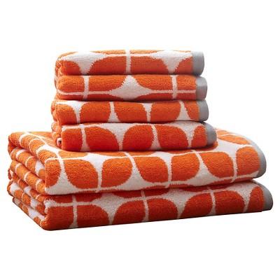 Bath Towels Sets - Orange - (28X54 )
