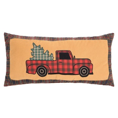 """C&F Home 12"""" x 24"""" Wild Wood For Truck Pillow"""