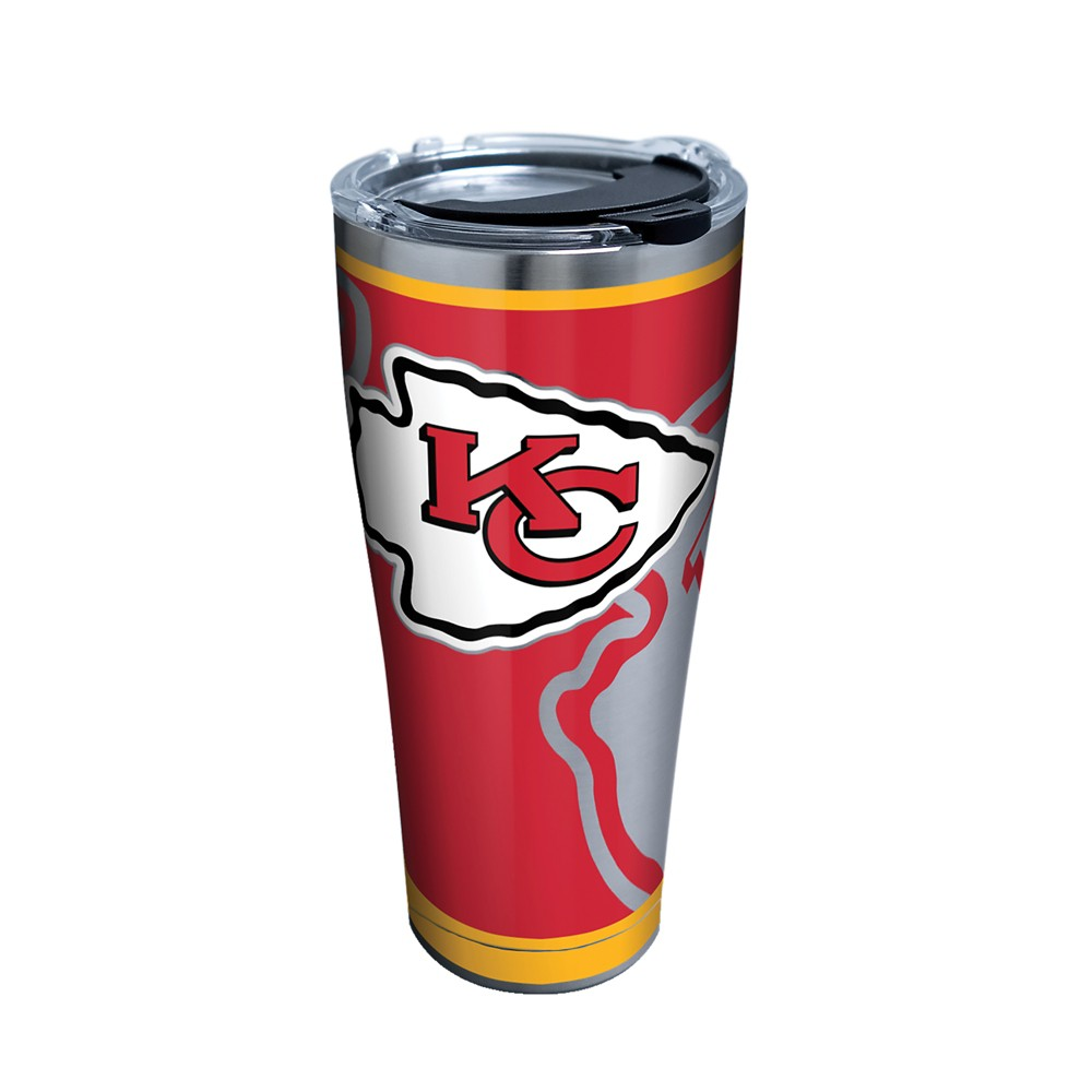 Tervis NFL Kansas City Chiefs Rush 30oz Stainless Steel Tumbler with lid