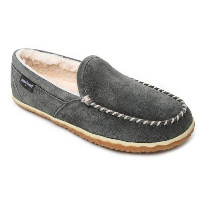 Minnetonka Men's Suede Tilden Moc Slipper