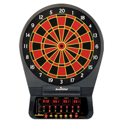 Arachnid Cricket Pro 650 Talking Electronic Dart Board Target
