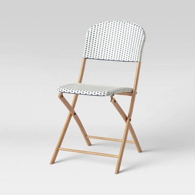 French Cafe Folding Patio Bistro Chair - Threshold™