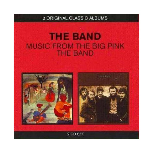 Band - Band/Music from Big Pink (CD) - image 1 of 1