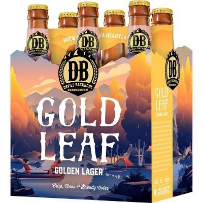 Devils Backbone Gold Leaf Lager Beer - 6pk/12 fl oz Bottles