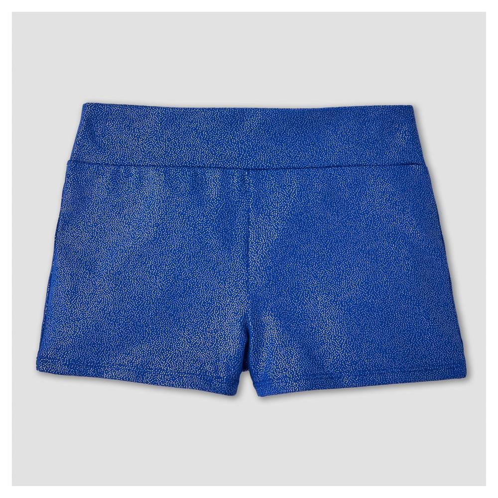 Freestyle by Danskin Girls' Stars Gymnastics Shorts - Purple S
