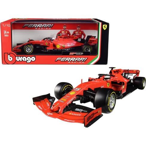 Ferrari SF90 #5 Sebastian Vettel F1 Formula 1 (2019) 1/18 Diecast Model Car by Bburago - image 1 of 1