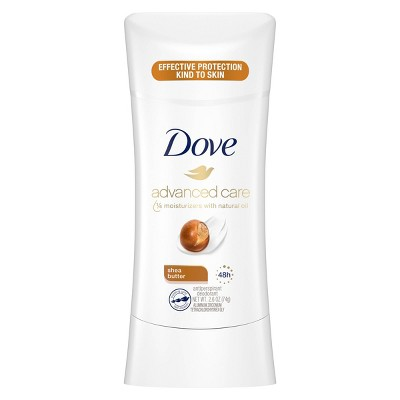 Dove Advanced Care Shea Butter 48-Hour Antiperspirant & Deodorant Stick - 2.6oz