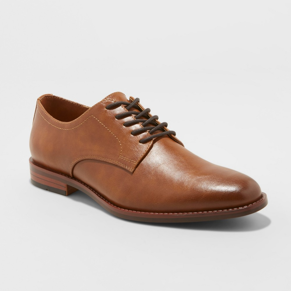 Image of Men's Benton Oxford Dress Shoes - Goodfellow & Co Brown 10.5, Men's
