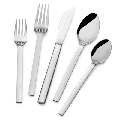 Towle 20pc Stainless Steel Living Forged Graciela Silverware Set