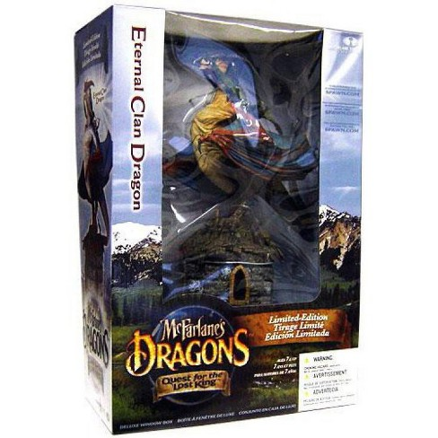 McFarlane Toys Dragons Quest for the Lost King Eternal Clan Dragon Action Figure Set [Repaint] - image 1 of 2