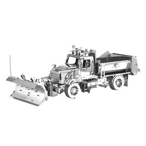 Fascinations Metal Earth Freightliner Snow Plow 3D Metal Model Kit - image 1 of 1