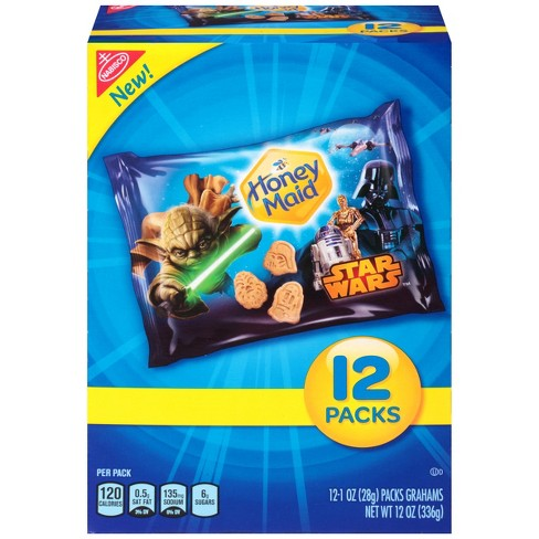 Honey Maid Star Wars Graham Crackers Multipack - 12ct/1oz - image 1 of 3