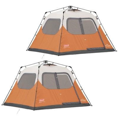 Coleman Outdoor 6 Person 10u0027 X 9u0027 Easy Set Up C&ing Instant Tent (2 Pack)  Target  sc 1 st  Target & Coleman Outdoor 6 Person 10u0027 X 9u0027 Easy Set Up Camping Instant Tent ...
