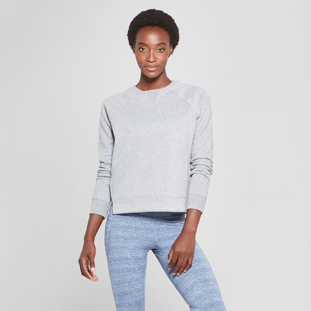 Women's Authentic Fleece Sweatshirt Pullover - C9 Champion Heather Gray Xxl