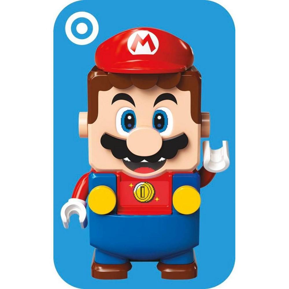 Nintendo Lego Mario Target Giftcard 200