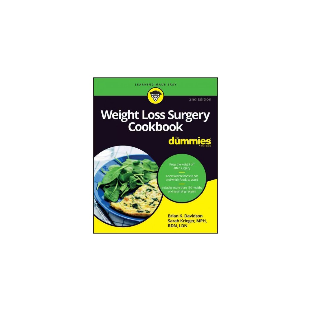 Weight Loss Surgery Cookbook for Dummies (Paperback) (Brian K. Davidson & Sarah Krieger)