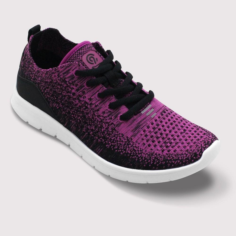 Best Sale Women Freedom 2 Wide Width Knit Sneakers C9 Champion Pink 7W Size 7 Wide