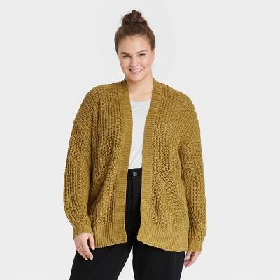 Women's Plus Size Casual Cardigan - Ava & Viv™