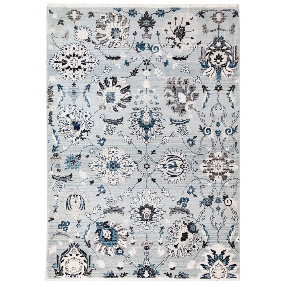 7'10X10' Floral Woven Area Rug Blue - Liora Manne