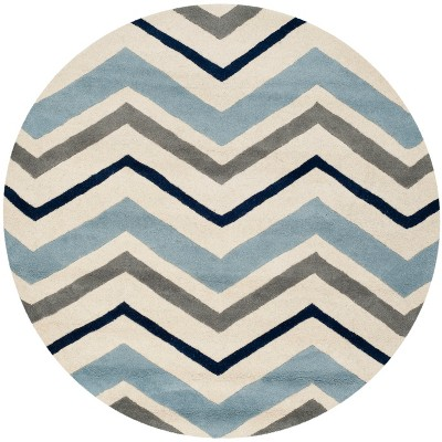 Dublin Chevron Geometric Tufted Area Rug - Safavieh