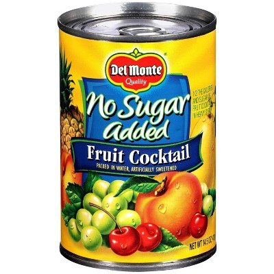 Del Monte No Sugar Added Fruit Cocktail in Water - 14.5oz