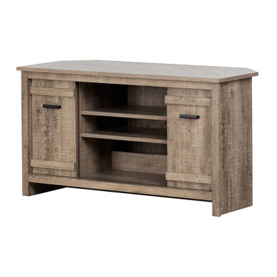 """Exhibit Corner TV Stand for TVs up to 42"""" - South Shore"""