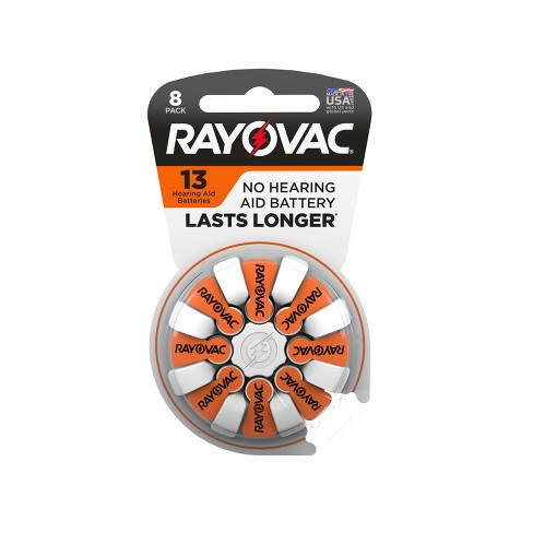 Rayovac Size 13 Hearing Aid Battery 8pk - image 1 of 4