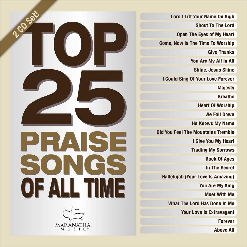Various - Top 25 praise songs:All time (CD)
