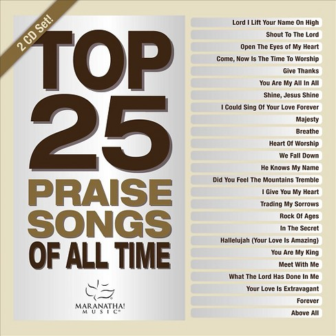 Various - Top 25 praise songs:All time (CD) - image 1 of 1