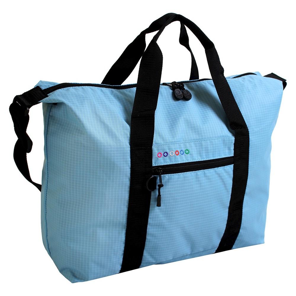 J World Lori Duffel Bag - Sky Blue, Brown