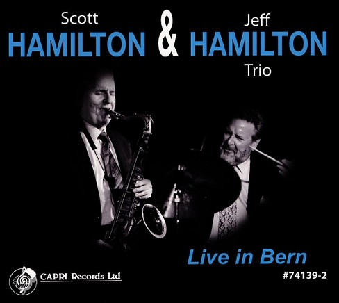 Scott hamilton - Live in bern:Scott hamilton & jeff ha (CD) - image 1 of 1