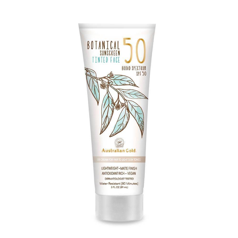 Reviews Australian Gold Botanical Tinted Face Sunscreen Lotion - Fair To Light - SPF 50 - 3 fl oz