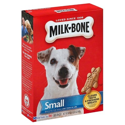 Dog Treats: Milk-Bone Original Biscuits Small
