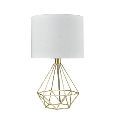 Wire Geo Table Lamp Brass - Project 62™