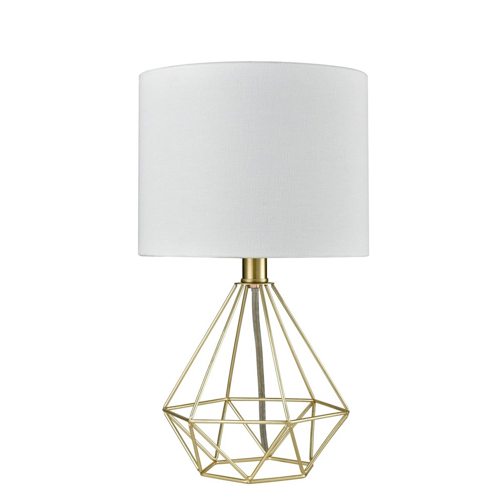 Wire Geo Table Lamp Brass Project 62 8482