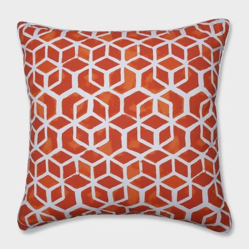 "25"" Celtic Marmalade Floor Pillow Orange - Pillow Perfect - image 1 of 1"