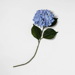 "24"" Artificial Hydrangea Stem Blue - Threshold™"