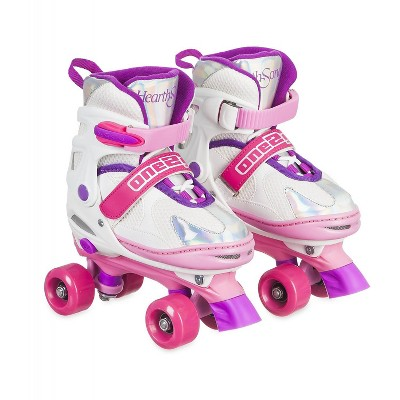 HearthSong One2Go Adjustable Roller Skates for Kids