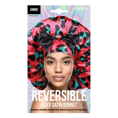 Donna Reversible Jumbo Bow Tie Bonnet