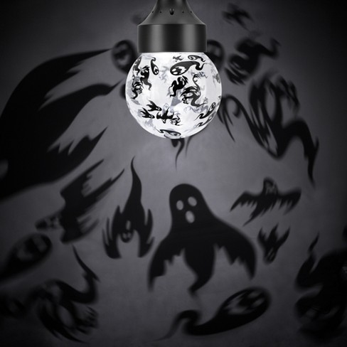 Rotating Ghost Shadows LED Halloween Light Bulb - Hyde & EEK! Boutique™ - image 1 of 3