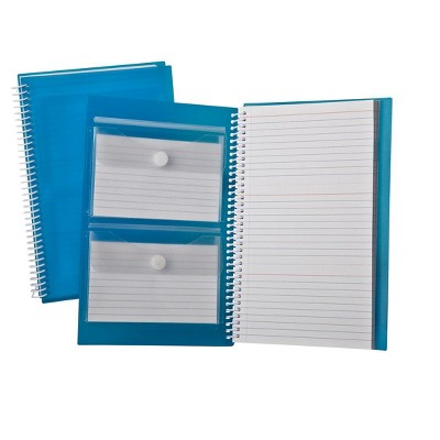 Oxford Polypropylene Ruled Index Card Notebook, 3 X 5 Inches by Oxford