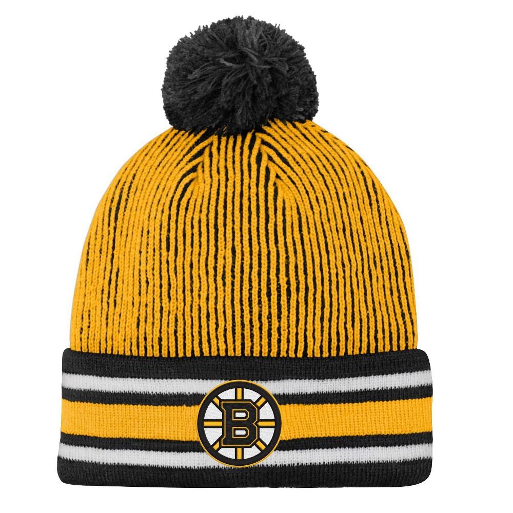 Nhl Boston Bruins Boys 39 Cuff Knit Hat