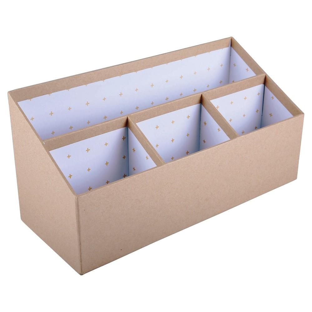 Kraft Desktop Organizer - Room Essentials