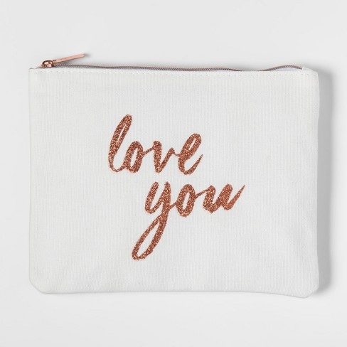 Love You Rose Gold Wristlet - image 1 of 1