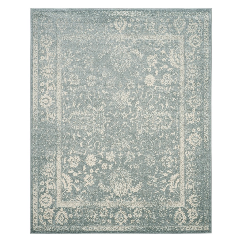 Spacedye Design Area Rug Slate/Ivory