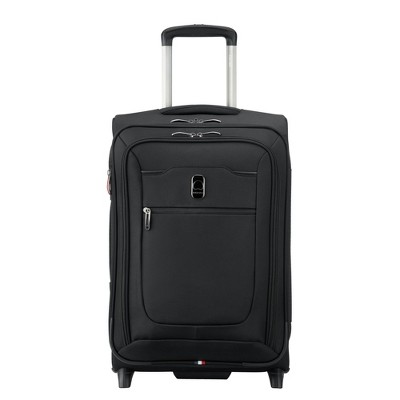 "DELSEY Paris Hyperglide 2-Wheel 20.5"" Carry On Suitcase - Black"