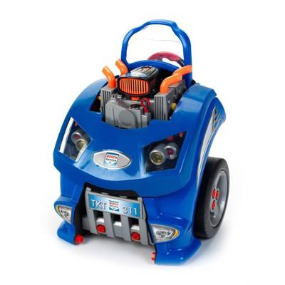 Theo Klein Kids Interactive Bosch Toy Car Engine Repair Service Station Playset