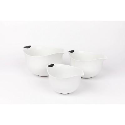 Cuisinart Set of 3 Soft-Grip Mixing Bowls - CTG-00-3MBW