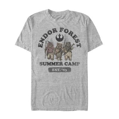 Men's Star Wars Forest of Endor Summer Camp '83 T-Shirt