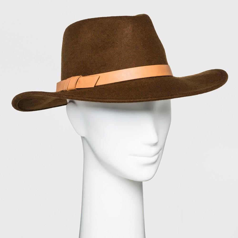 Women's Panama Hat - Universal Thread Brown